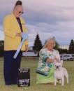 Borat in Merritt 2010
